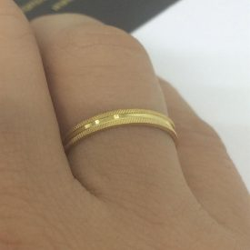 houros jóias, ouro anel alianças casamento solitário - Multiplace c88a455c86
