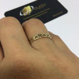 041a1abae0c ouro brinco prata aliança anel folheado pulseira coração pingente